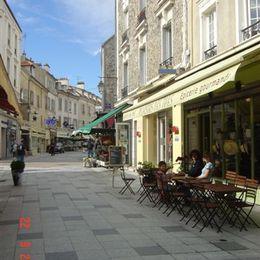 Rue pietonne de Sceaux - Location de vacances - Sceaux