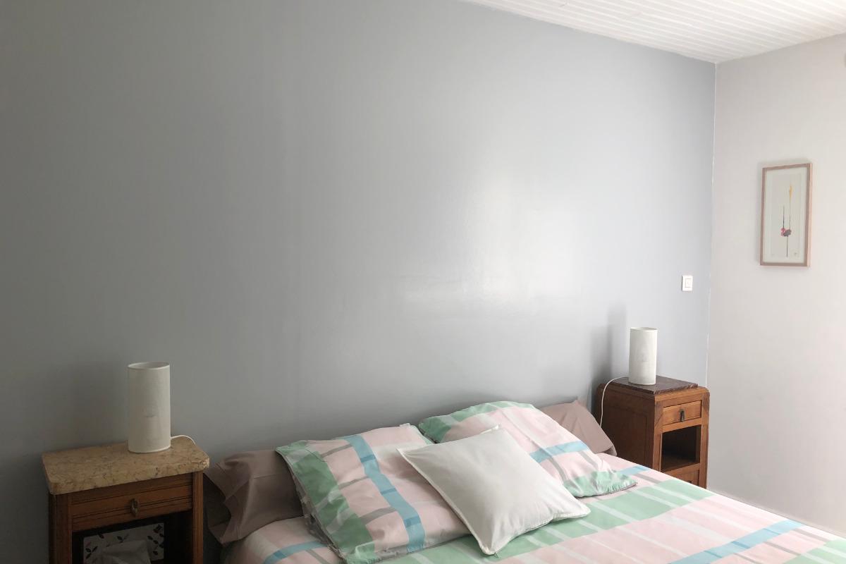 Chambre sur jardin (lit 160 très confortable) - Location de vacances - Rueil-Malmaison