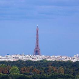 Vue panoramique sur Paris et Tour Eiffel - Location de vacances - Suresnes