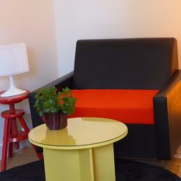 coin salon - Chambre d'hôtes - Neuilly-Plaisance