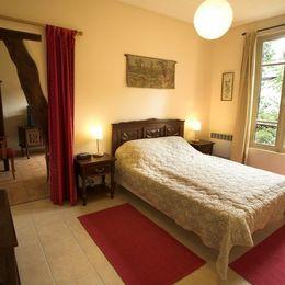 La chambre principale - Location de vacances -