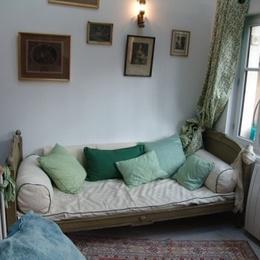 Tranquillité et calme dans ce coin salon - Chambre d'hôtes - Fontenay-sous-Bois