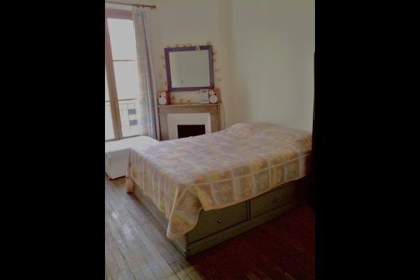 chambre cour lit 2 personnes - Location de vacances - Charenton-le-Pont