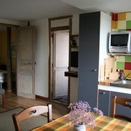 bureau dans la chambre - Location de vacances - Saint-Prix