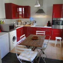 Cuisine  - Location de vacances - Enghien-les-Bains
