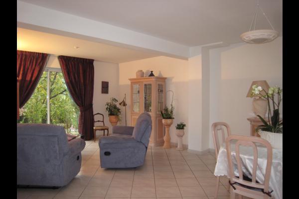 Salle de séjour  - Location de vacances - Courdimanche