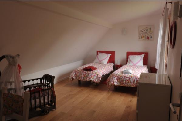 chambre étage en version lit jumeaux
