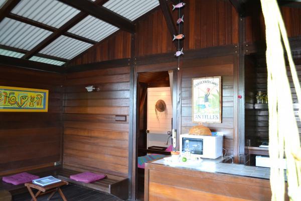 La terrasse - Location de vacances - Deshaies