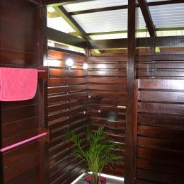 Salle de bains - Location de vacances - Deshaies