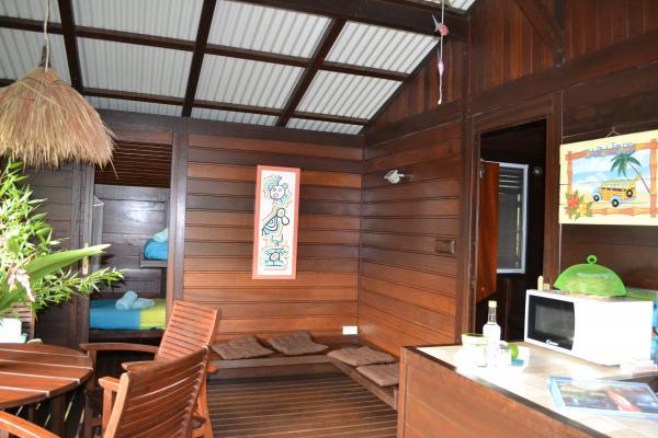 terrasse - Location de vacances - Deshaies