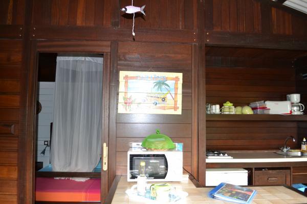 terrasse séjour - Location de vacances - Deshaies