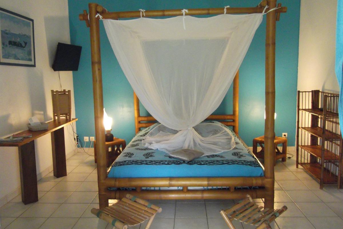 Chambre 1 - Location de vacances - Sainte-Rose
