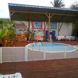 Acces de la piscine sécurisé - Location de vacances - Sainte-Anne