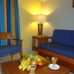 accueil avec des fruits tropicaux - Location de vacances - Saint-François