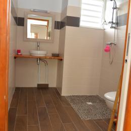 salle de bain - Location de vacances - Sainte-Anne