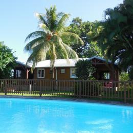 A Lamatéliane, 2 gites font face à la piscine. - Location de vacances - Capesterre-Belle-Eau