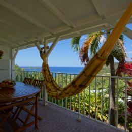 La cuisine et la vue - Location de vacances - Bouillante