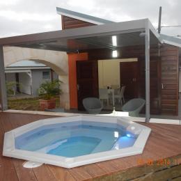 terrasse et Spa - Location de vacances -