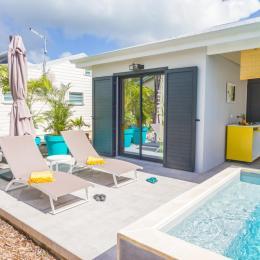 iguane house villas & micro spa villa Passion pour 4 personnes - Location de vacances - Sainte-Anne