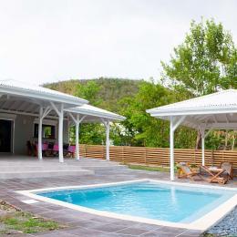 piscine et portillon accès plage - Location de vacances -