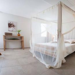chambre double étage  - Location de vacances - Le Diamant