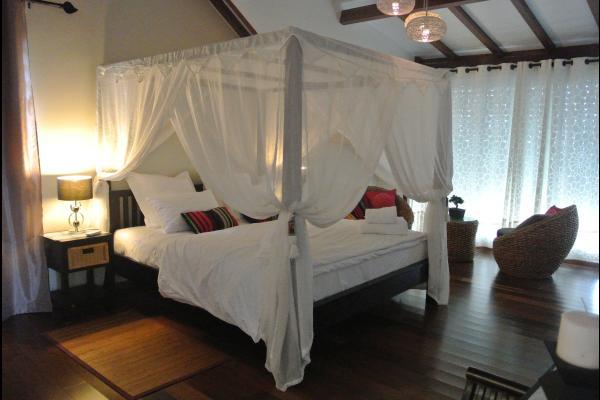 chambre de l etage Master suite - Location de vacances - Le Marin