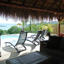 vue de la baie du marin du carbet vegetal - Location de vacances -