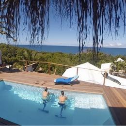 Sur la terrasse - Location de vacances - La Trinité
