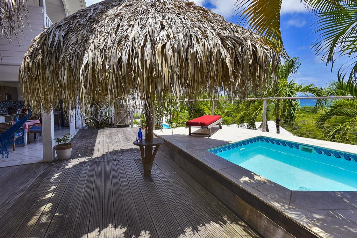 Le vue Turquoise Parasol vous accueille - Location de vacances - La Trinité