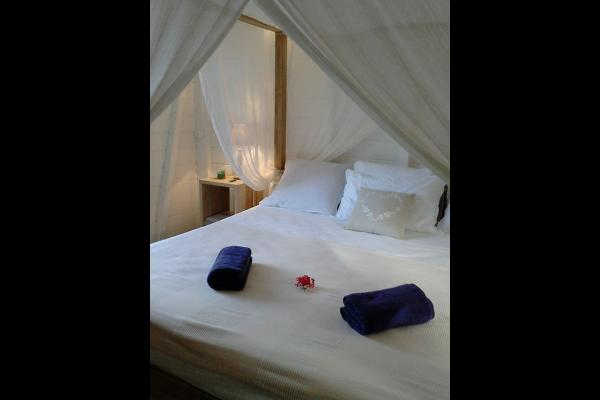 la chambre diamant la + romantique et la + discrète avec son jacuzzi - Chambre d'hôtes - Le Diamant