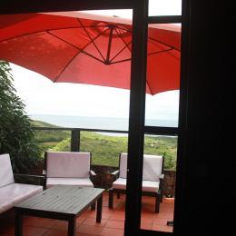 2ème terrasse - Location de vacances - Les Trois-Îlets
