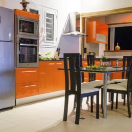 Cuisine/salle à manger - Location de vacances - Le Marin