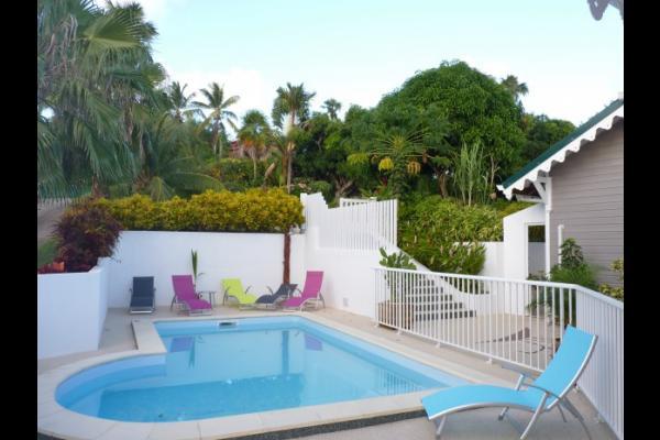 piscine - Location de vacances - Le Marin