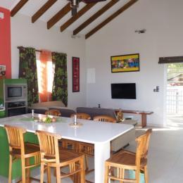 cuisinen/séjour - Location de vacances - Le Marin