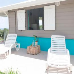 transat extérieur villa vue mer - Location de vacances - Le Marin