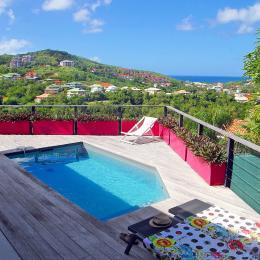 Vue terrasse - Location de vacances - Les Trois-Îlets