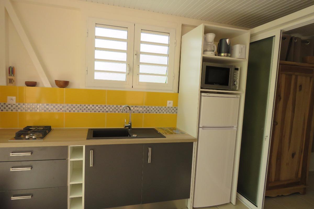 la cuisine americaine - Location de vacances - Les Trois-Îlets