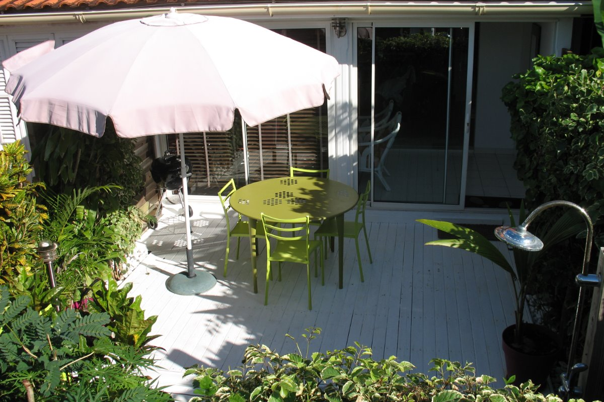 Joli maison avec jardin tropical - Location de vacances - Sainte-Anne