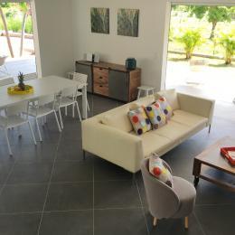 Villa Carouge Salon Salle à Manger - Location de vacances - Le François