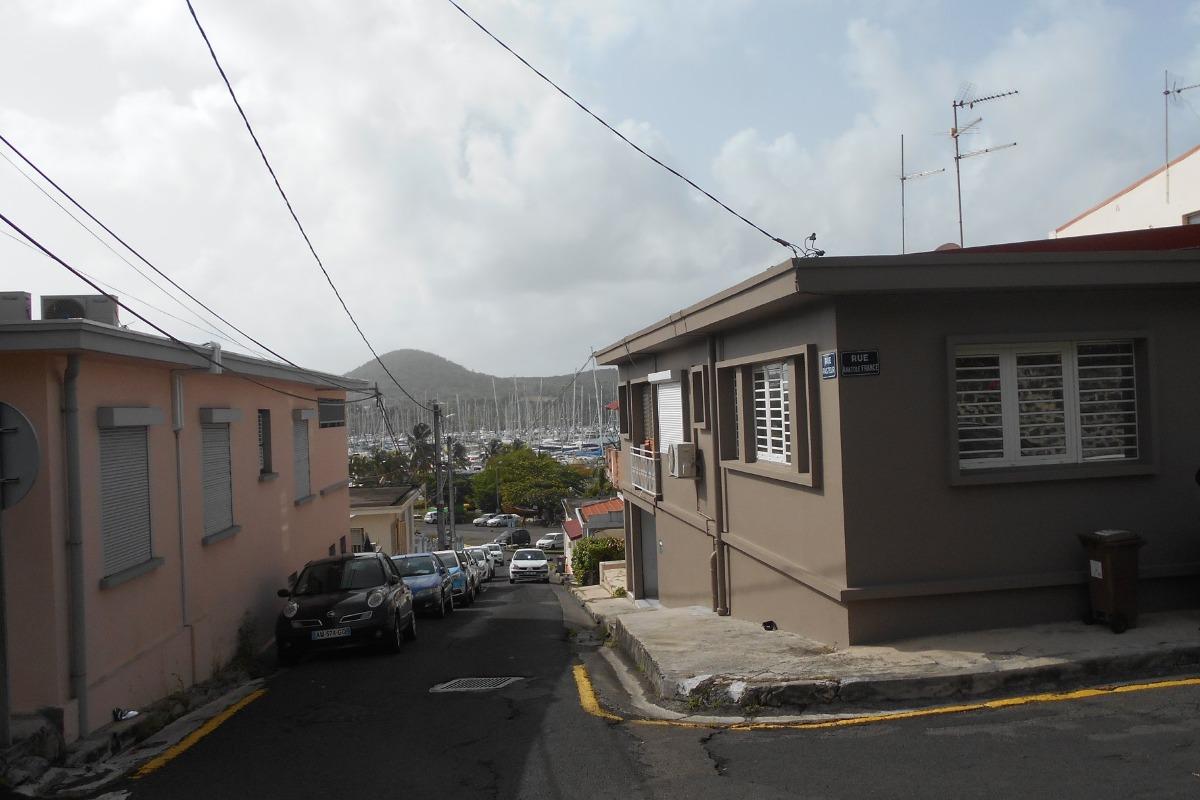 Vue extérieure de la maison - Location de vacances - Le Marin