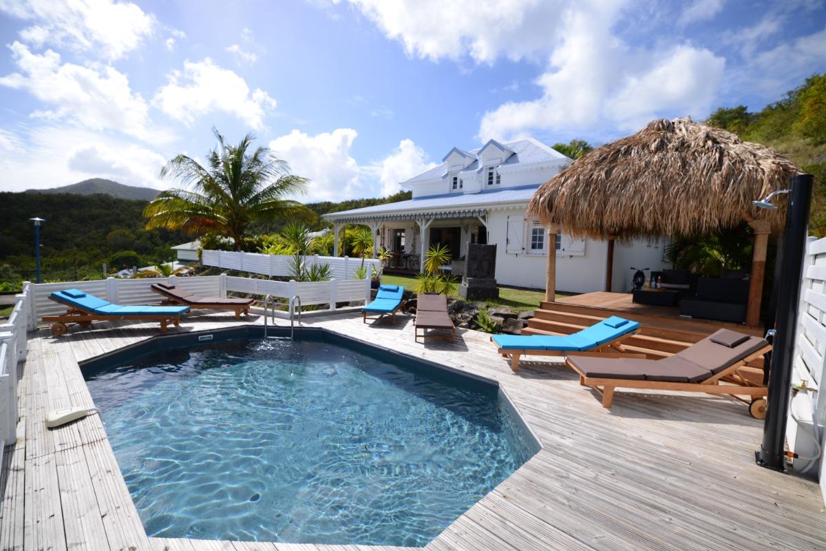 la villa Coconut - Location de vacances - Le Diamant