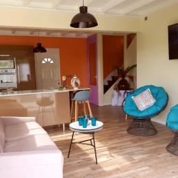 salle de bain chambre parentale - Location de vacances - Le Lamentin