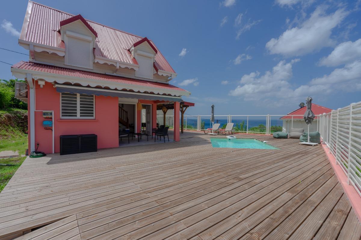 la villa  - Location de vacances - Les Anses-d'Arlet