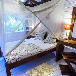 La chambre principale - Location de vacances - Le François