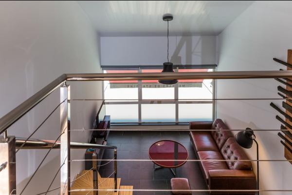 Intérieur (vue de la mezzanine)  - Location de vacances - Remire-Montjoly