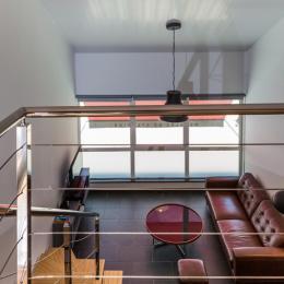 Intérieur (vue de la mezzanine)  - Location de vacances -