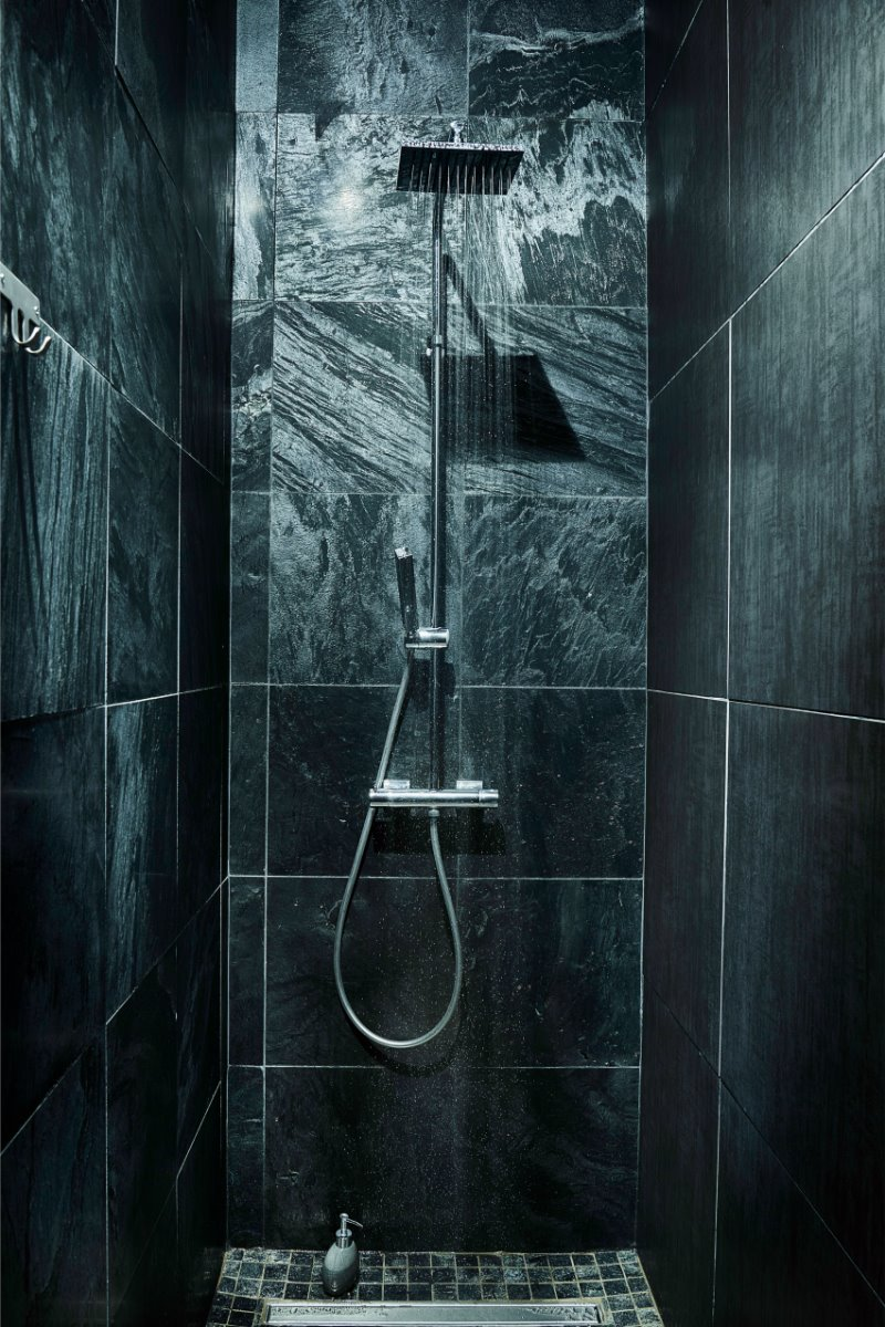 douche à l'italienne - Chambre d'hôtes - L'Étang-Salé