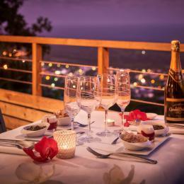 dîner à la Villa Romeo - Chambre d'hôtes - L'Étang-Salé