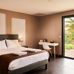 chambre avec terrasse - Chambre d'hôtes - L'Étang-Salé