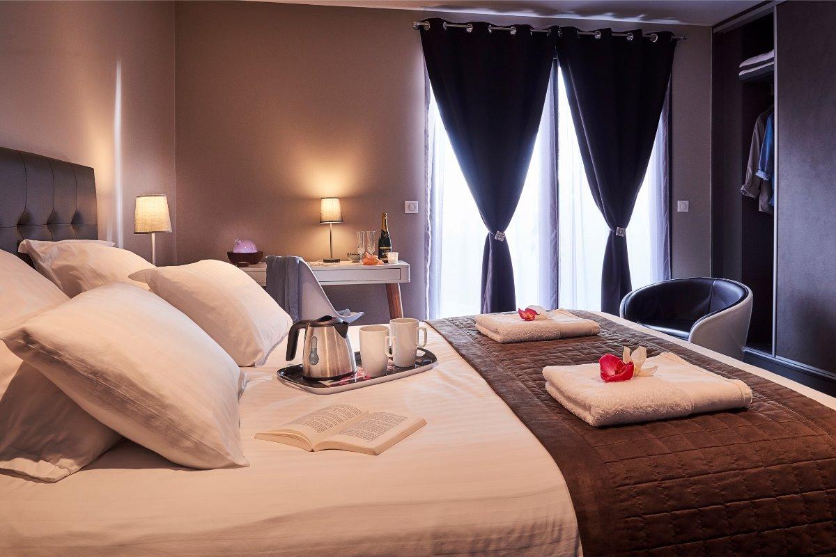chambre au confort supérieur - Chambre d'hôtes - L'Étang-Salé